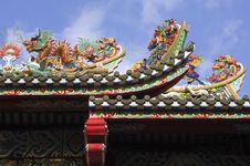 Free Thailand, Bangkok: Chinatown, Temple Royalty Free Stock Image - 4823946