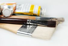 Free Paint Brushes Stock Images - 4824864