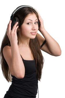 Free Music Listening Stock Photography - 4825062