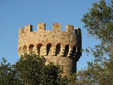 Free Castle Turret 2 Royalty Free Stock Photo - 4825345