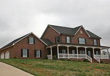 Free Large Brick Home Royalty Free Stock Photos - 4825938