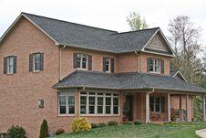 Free Large Brick Home Royalty Free Stock Photos - 4826028