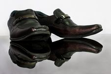 Man Leather Shoe Royalty Free Stock Image