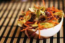 Free Vegetarian Japanese Salad Stock Photo - 4826930