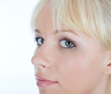 Free Blondy Watching You Stock Photos - 4827043