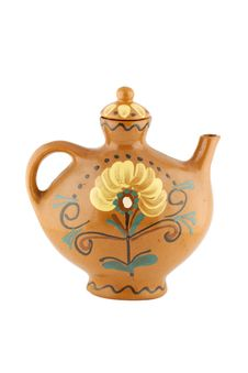Free Unusual Decorative Earthen Teapot Royalty Free Stock Image - 4827096