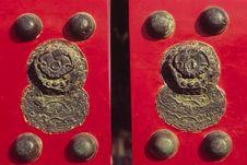 Free Red Door Stock Image - 4827151