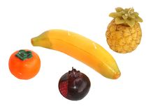 Free Candles In The Form Of Fruit Royalty Free Stock Photos - 4827618