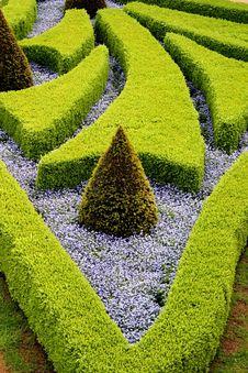 Free French Gardens In Prague Royalty Free Stock Image - 4828976