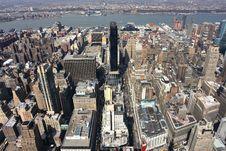 Free Manhattan Skyline Stock Image - 4829451