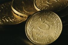Free Coins Close-up Stock Photo - 4829500