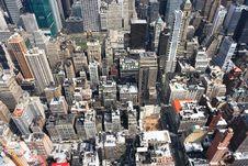 Free Manhattan Skyline Royalty Free Stock Photo - 4829505