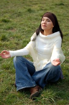 Free Outdoor Meditation Stock Photography - 4829812
