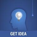 Free Get Idea Stock Photo - 48211040
