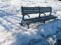 Free Park Bench Royalty Free Stock Images - 4832229