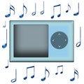 Free Music Notes Royalty Free Stock Photos - 4834358