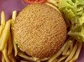 Free Burger Series Royalty Free Stock Photos - 4834918