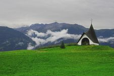 Free Chapel In Mountains Stock Images - 4830244
