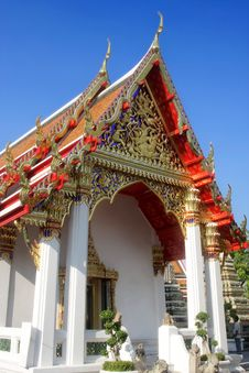 Free Thai Temple Royalty Free Stock Image - 4830526