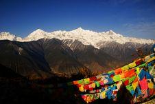 Free Kawa Karpo Peak, Yunnan, China Stock Image - 4831621