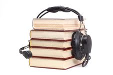 Free Headphones And Books Stock Images - 4831674