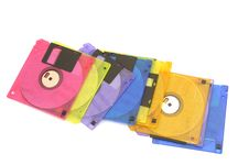 Free Color Floppy Disk Royalty Free Stock Photography - 4832037