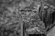 Broken Wooden Posts