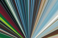 Free Abstract Linear Color Background. Royalty Free Stock Images - 4832839
