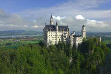 Free Neuschwanstein Castle Stock Photo - 4832920