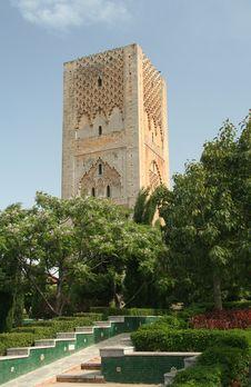 Free Ancient Minaret In Rabat Stock Photography - 4833002