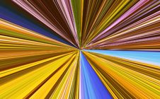 Free Abstract Linear Color Background. Stock Photos - 4833223
