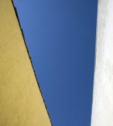 Free Sky Through Alley Way Stock Photo - 4833310