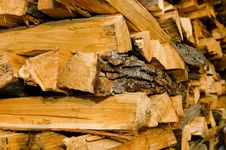 Free Tile Of Logs Royalty Free Stock Photo - 4833325