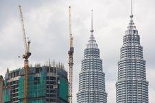 Free Petronas Towers, Kuala Lumpur, Malaysia Royalty Free Stock Image - 4833366