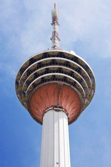 Menara Tower, Kuala Lumpur, Malaysia Royalty Free Stock Image