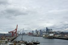 Free Port Of Seattle Royalty Free Stock Photography - 4833637