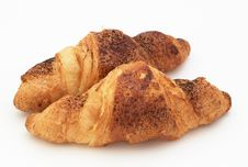 Free Croissants With Cinnamon Stock Photography - 4833762
