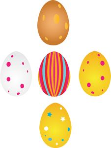 Free Easter Eggs Royalty Free Stock Photo - 4833975