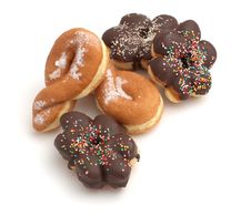 Free Various Donuts Stock Image - 4833991