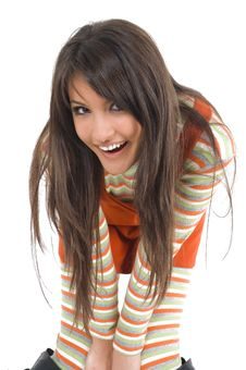 Free Young Brunette Stock Photography - 4834122