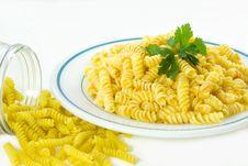 Free Fusilli Pasta... Stock Images - 4834204