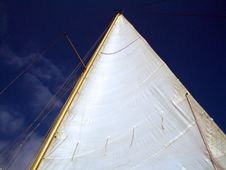 Free Sail And Sky Stock Image - 4834251