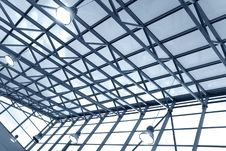 Free Ceiling In Business Center Royalty Free Stock Photos - 4834268