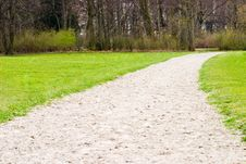 Free A Sand Riding Track Stock Image - 4834451