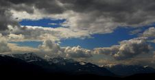 Free Mountains, Clouds And Sky. Stock Photo - 4834550