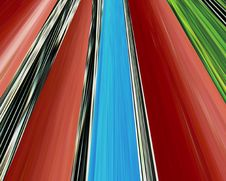 Free Abstract Linear Color Background. Royalty Free Stock Photo - 4834575