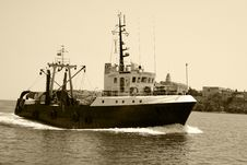 Free Fishing Boat Royalty Free Stock Photos - 4834618