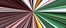 Free Abstract Linear Color Background. Stock Images - 4834734