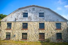 Free Old Stone Barn Royalty Free Stock Photo - 4834885
