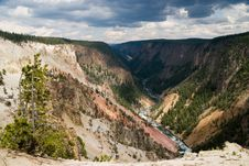 Free Grand Canyon Of The Yellowstone Royalty Free Stock Photo - 4835195